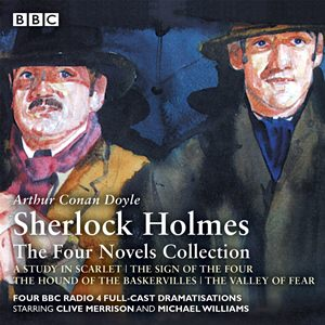Four novels CD cover