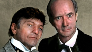 Clive Merrison and Michael Williams as Holmes and Watson